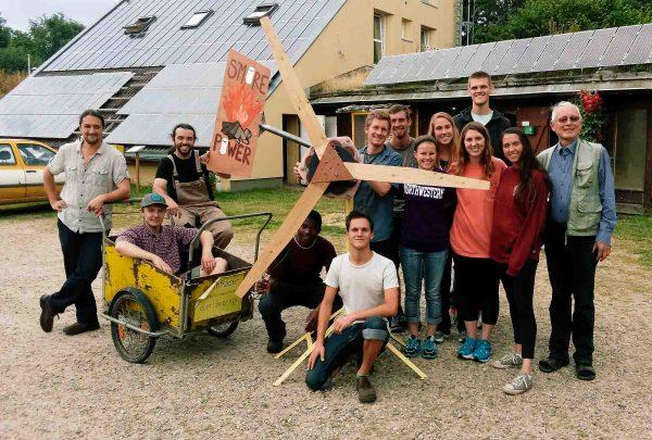Glücksburg Wind Turbine Course Crew